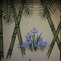 remodel-the-bamboo-mural-before